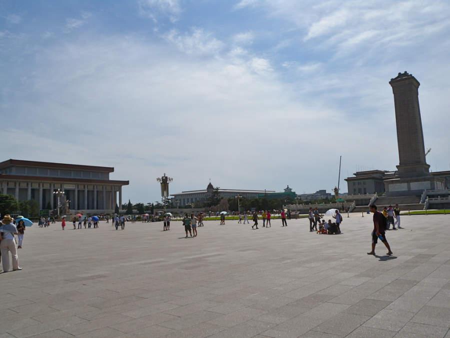 Plaza Tian'anmen y Monumento a los Héroes del Pueblo