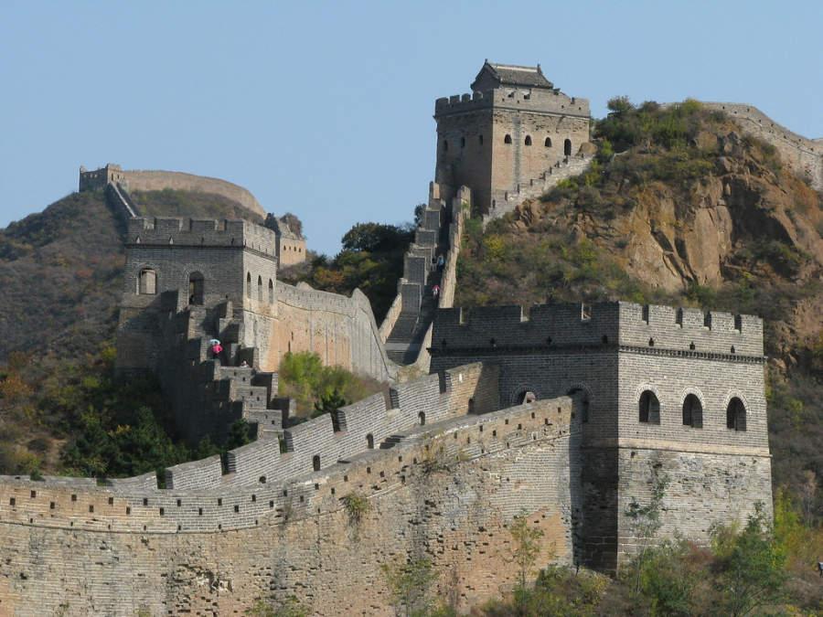 Torres de vigilancia de La Gran Muralla China