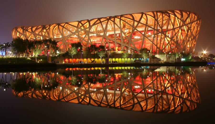 """Estadio Nacional de Beijing """"Nido de Pájaros"""""""