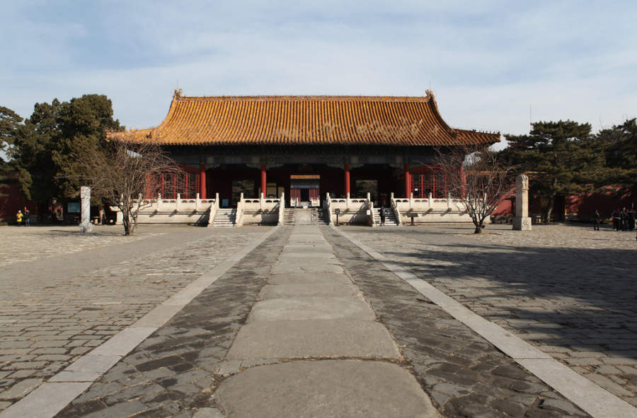 Tumbas de la dinastía Ming, sitio Patrimonio de la Humanidad a 50 kilómetros de Beijing