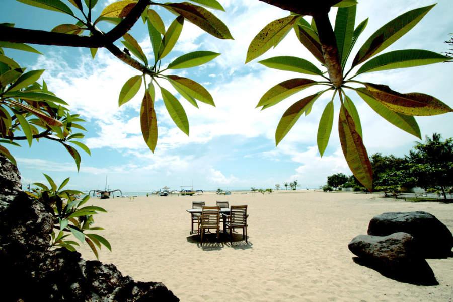 Playa de suave arena en Benoa
