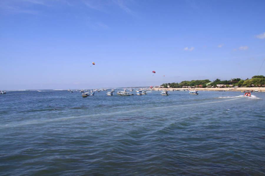 En Benoa se pueden practicar diversas actividades acuáticas