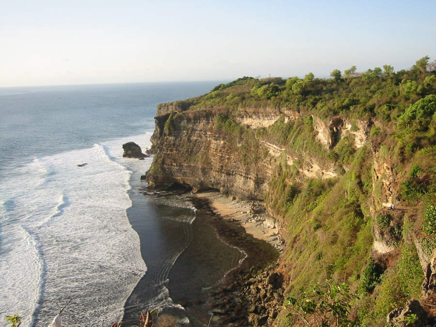 Acantilado en Bali