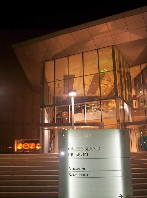 Queensland Museum en Brisbane
