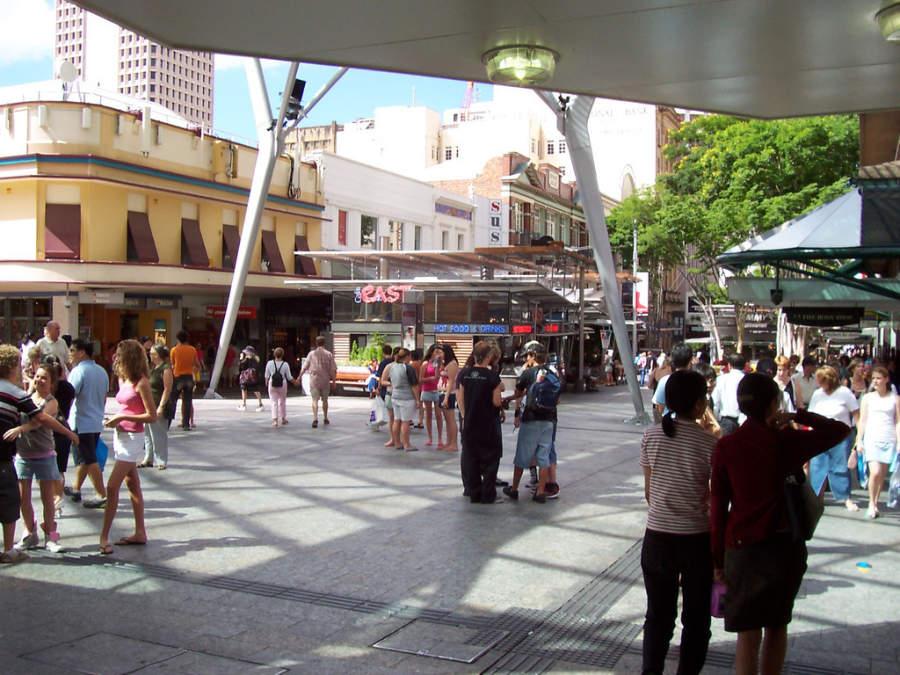 Área comercial en Brisbane