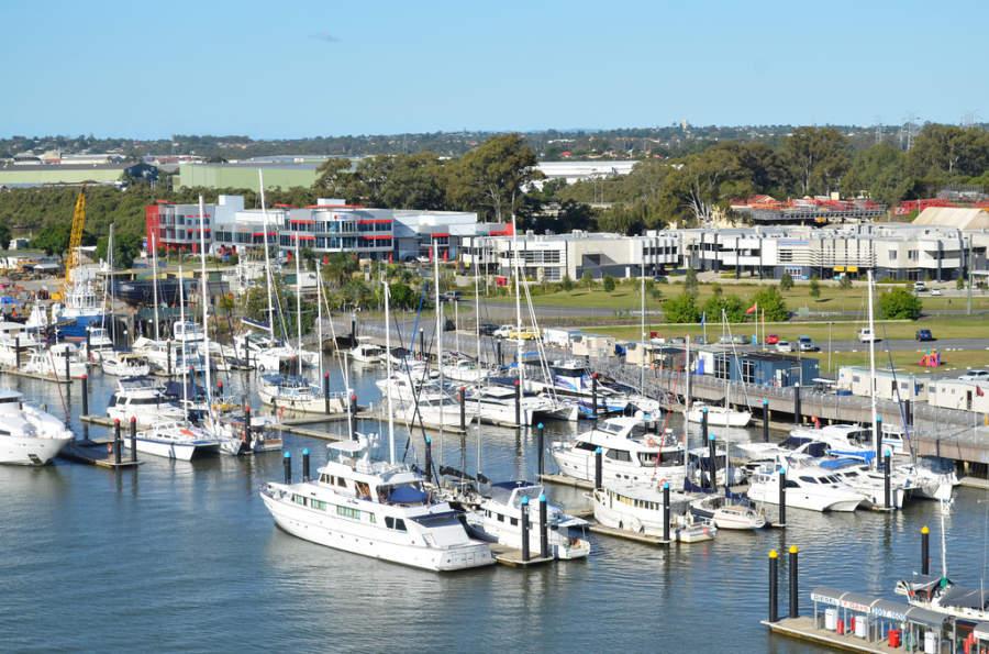 Puerto en Brisbane