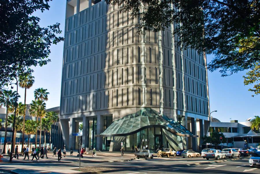Riparian Plaza, centro comercial en Brisbane
