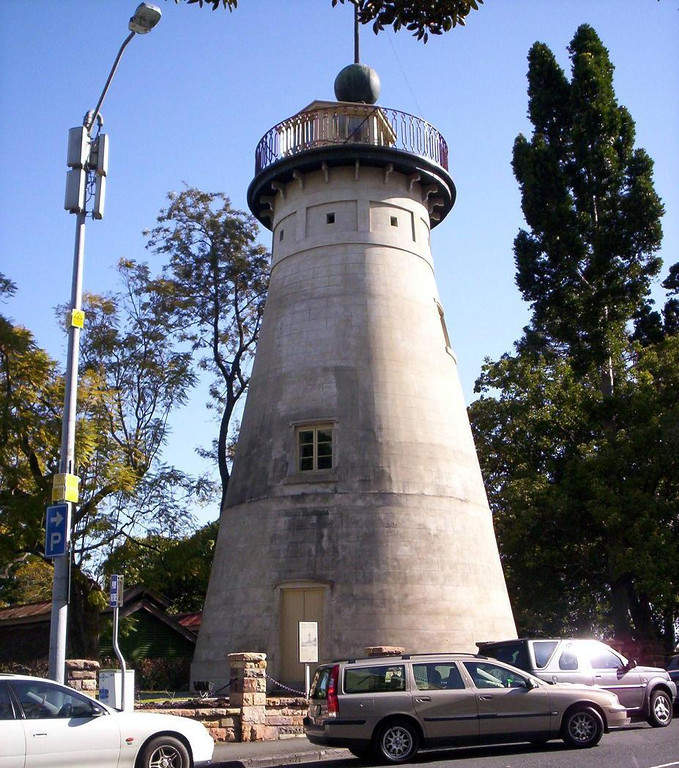 The Old Windmill, antiguo molino