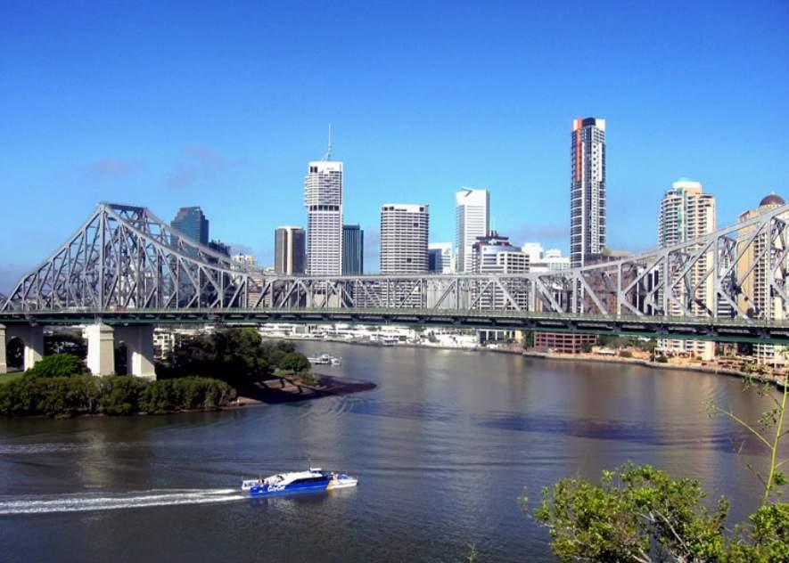 Story Bridge, puente sobre el río Brisbane