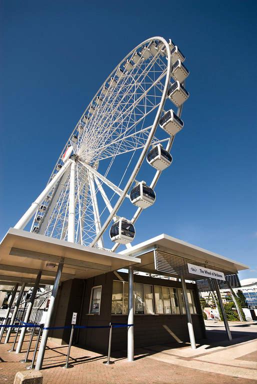 Wheel of Brisbane, rueda de la fortuna de 60 metros de alto