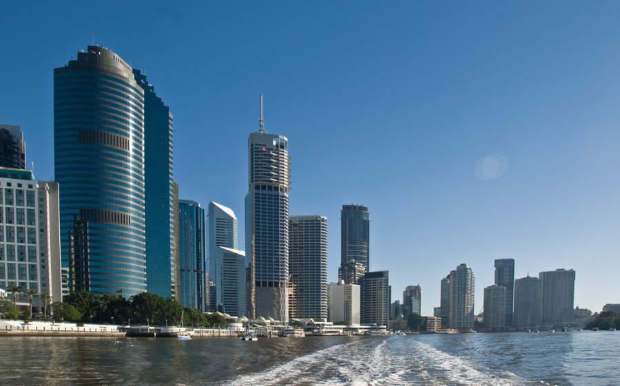 Brisbane Central Business District, distrito financiero
