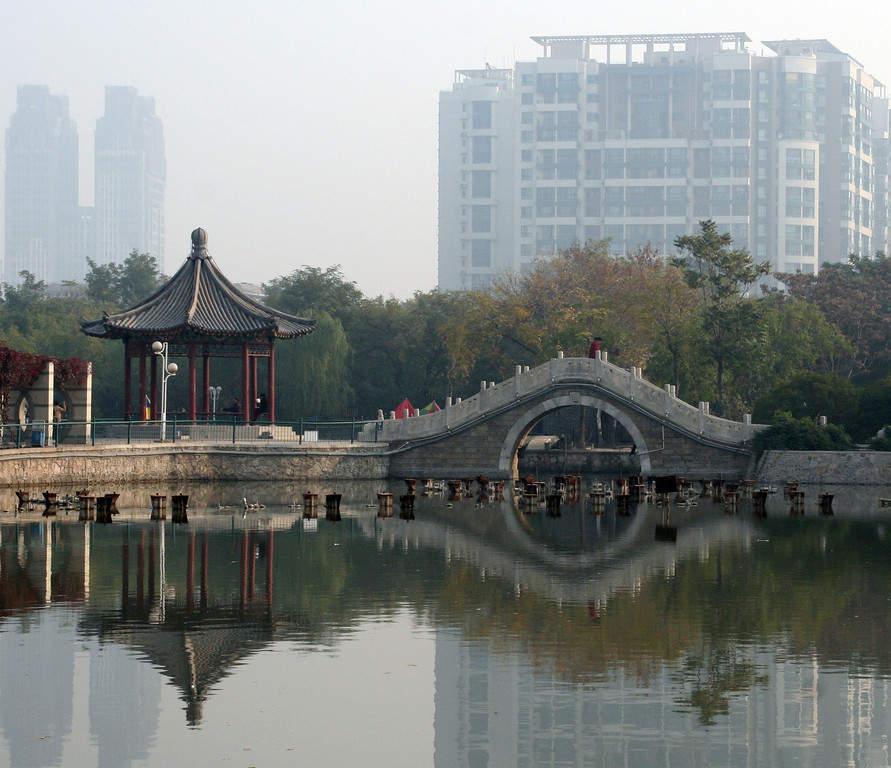 Remnin Park en Tianjín