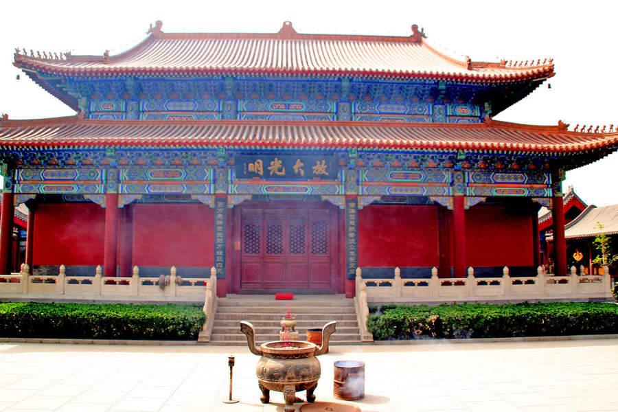 Templo Dabei en Tianjín