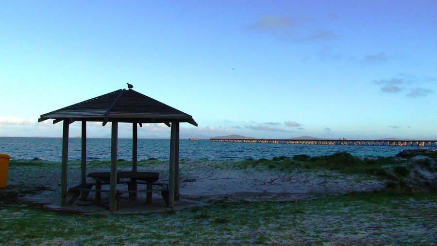 Atardecer en una playa de Esperance