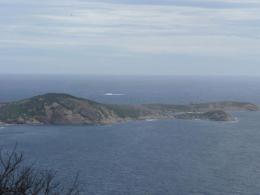 Vista de Woody Island cerca de Esperance