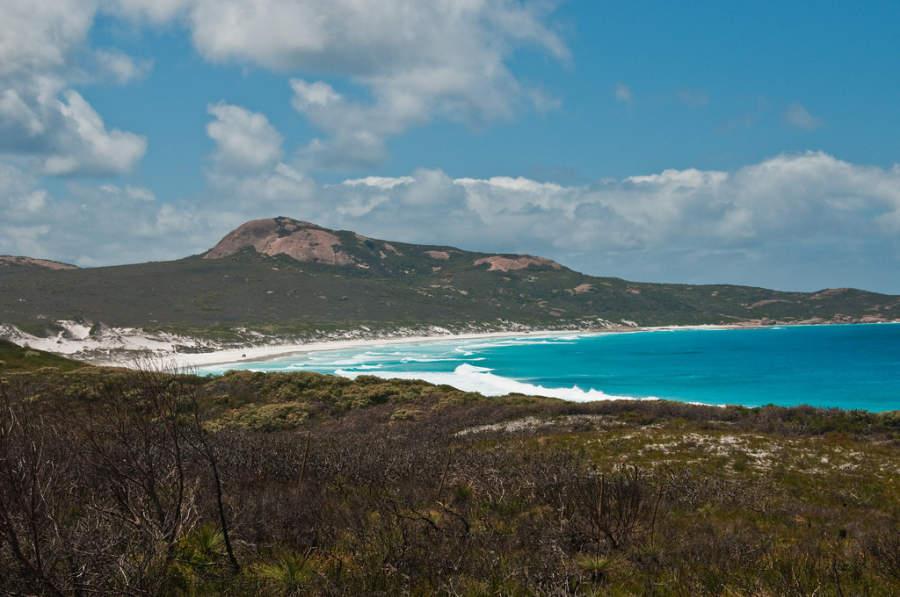 Vista de Lucky Bay