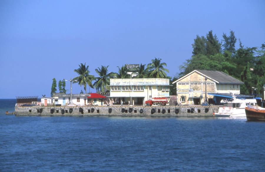 Isla Chatham frente a Port Blair