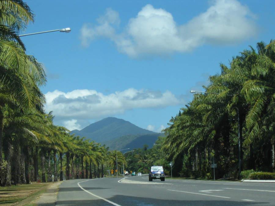 Carretera cerca de Port Douglas