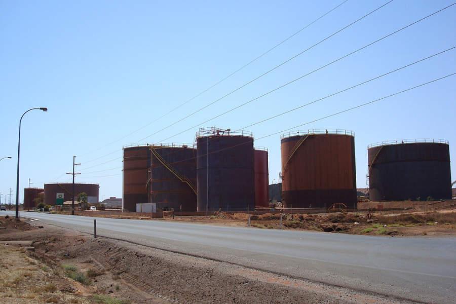 Port Hedland tiene grandes campos de gas natural