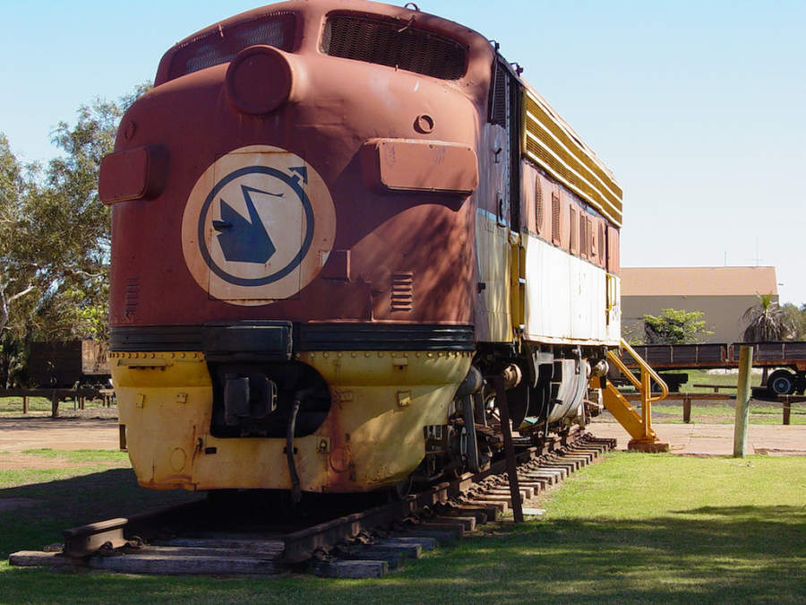 Vagones de tren, íconos de Port Hedland