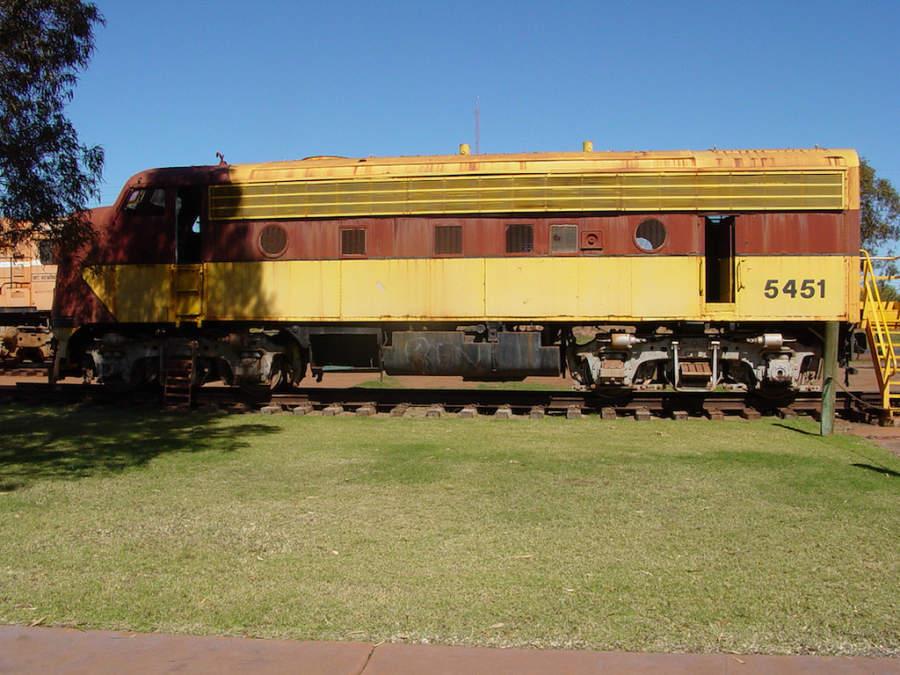 Vagón de tren en Port Hedland
