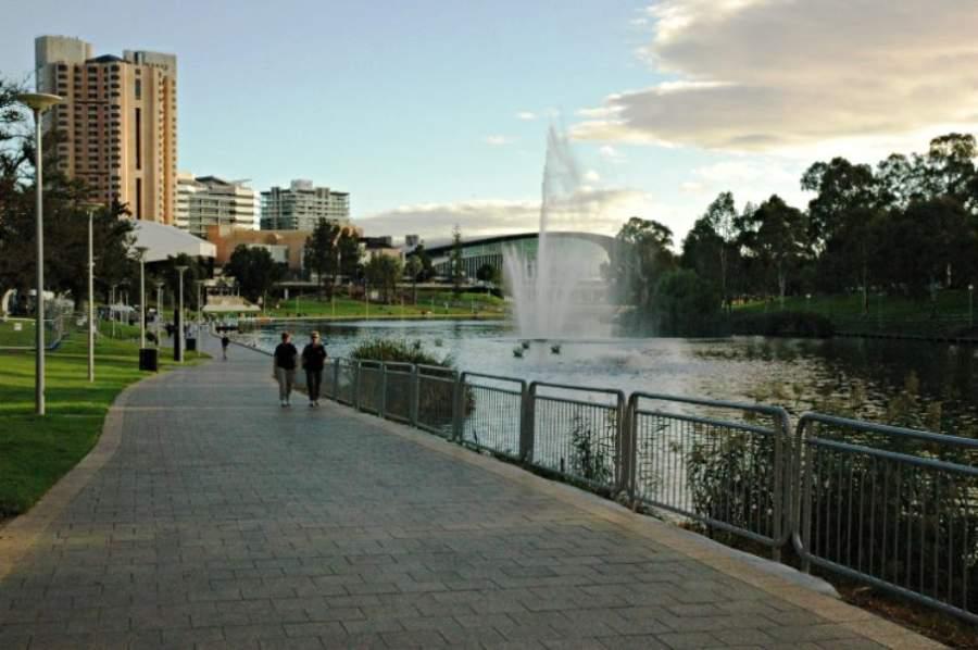 Elder Park, espacio público en Adelaida