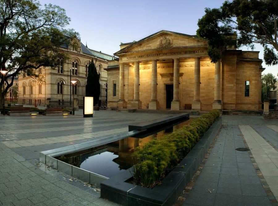 The Art Gallery of South Australia en Adelaida