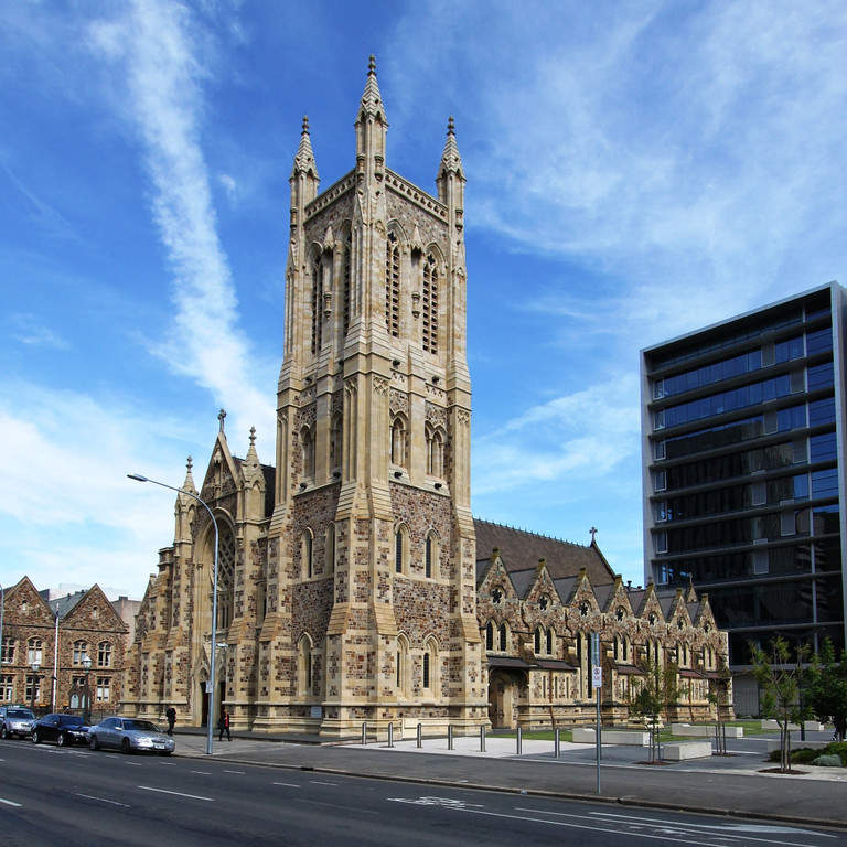 Saint Francis Xavier Cathedral en Adelaida