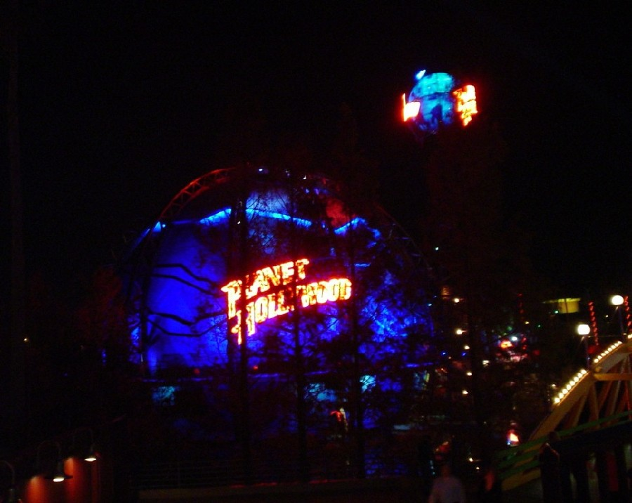 Planet Hollywood en Downtown Disney