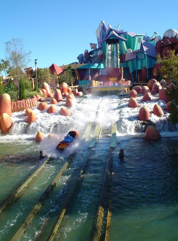 Dudley Do-Right's Ripsaw Falls,Universal