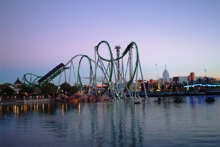 Parque Universal's Island of Adventure