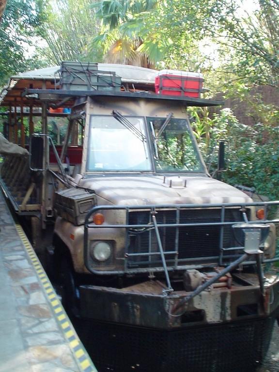 Vehículo de Kilimanjaro Safaris