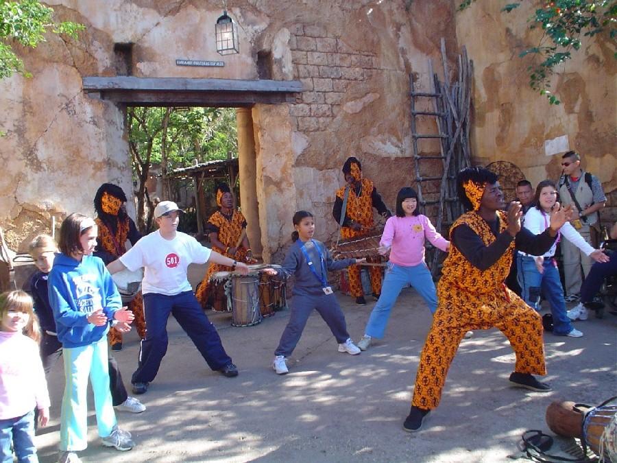 Área de África, Disney's Animal Kingdom
