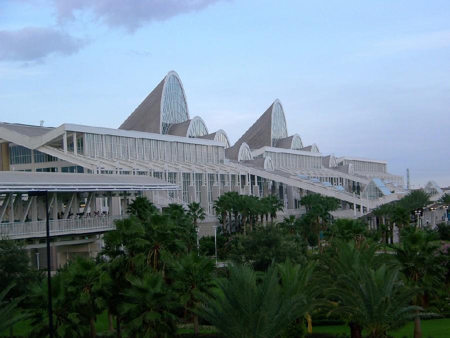 Vista exterior del Centro de Convenciones de Orange County