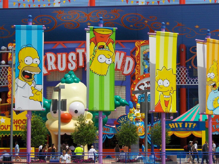 Juego The Simpsons Ride, Universal