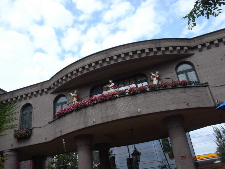 Fábrica de chocolate Ishiya, parque temático Shiroi Koibito Park