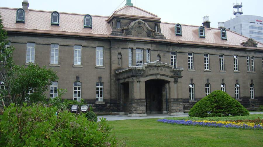 Antiguo edificio del gobierno de Hokkaido