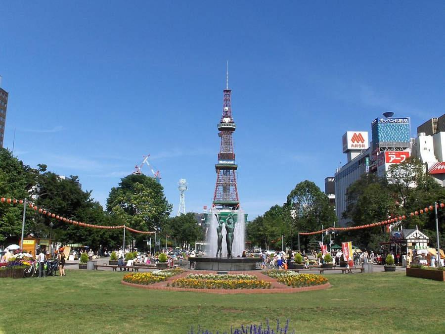 Torre de TV de Sapporo, Parque Odori