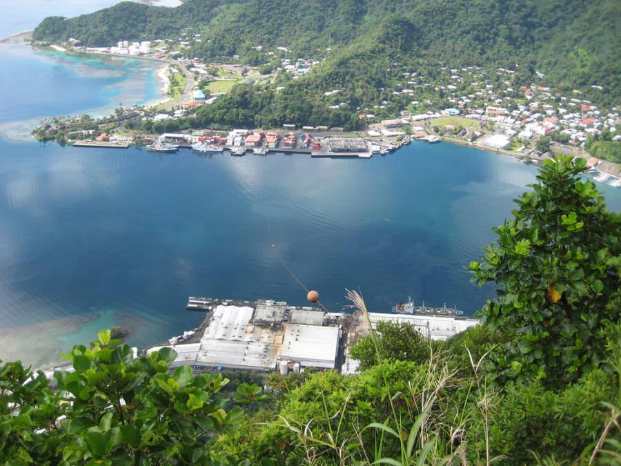 Pago Pago es la capital de Samoa Americana