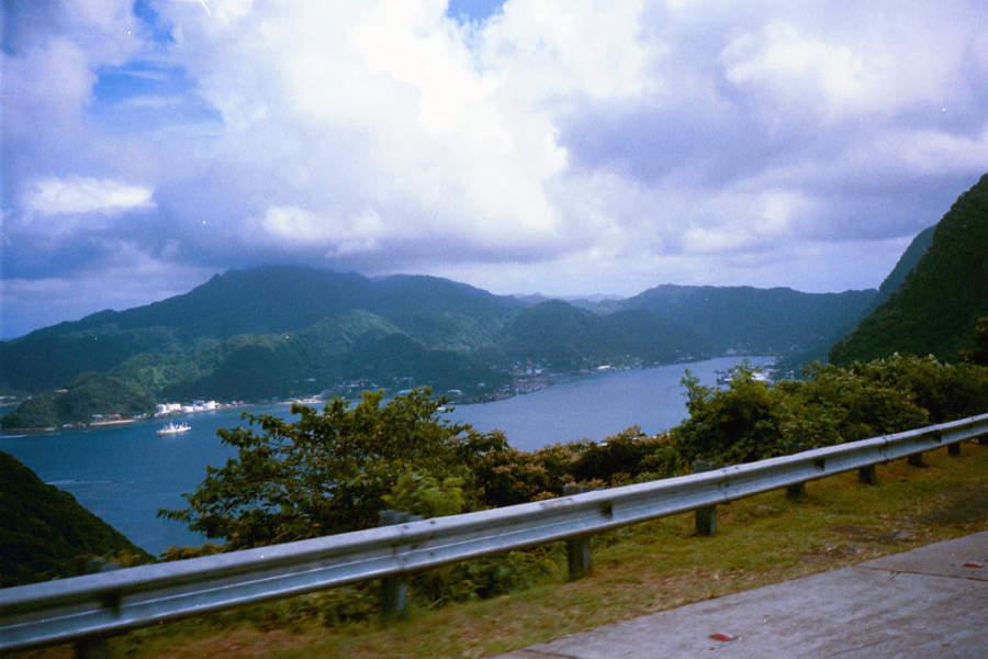 Carretera hacia Pago Pago