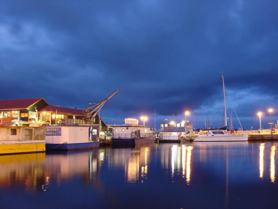 Constitution Dock, muelle en Hobart