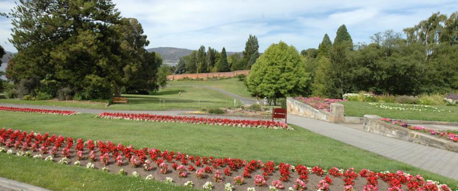 Royal Tasmanian Botanical Gardens, jardín botánico