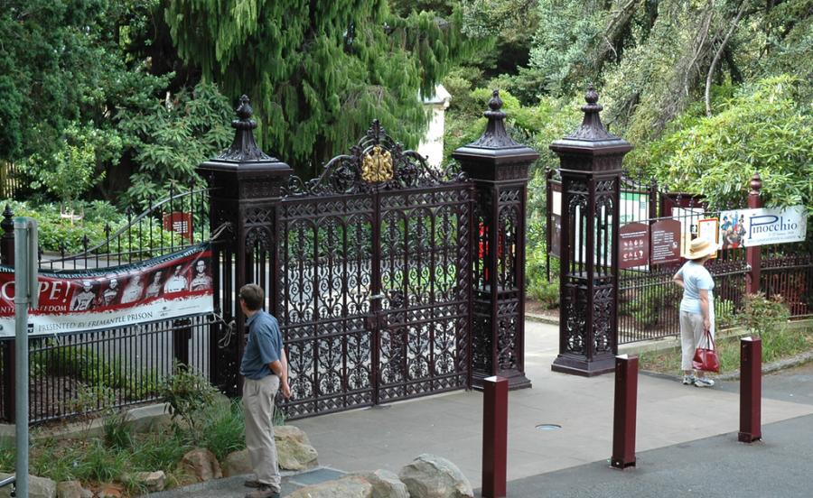 Entrada a Royal Tasmanian Botanical Gardens