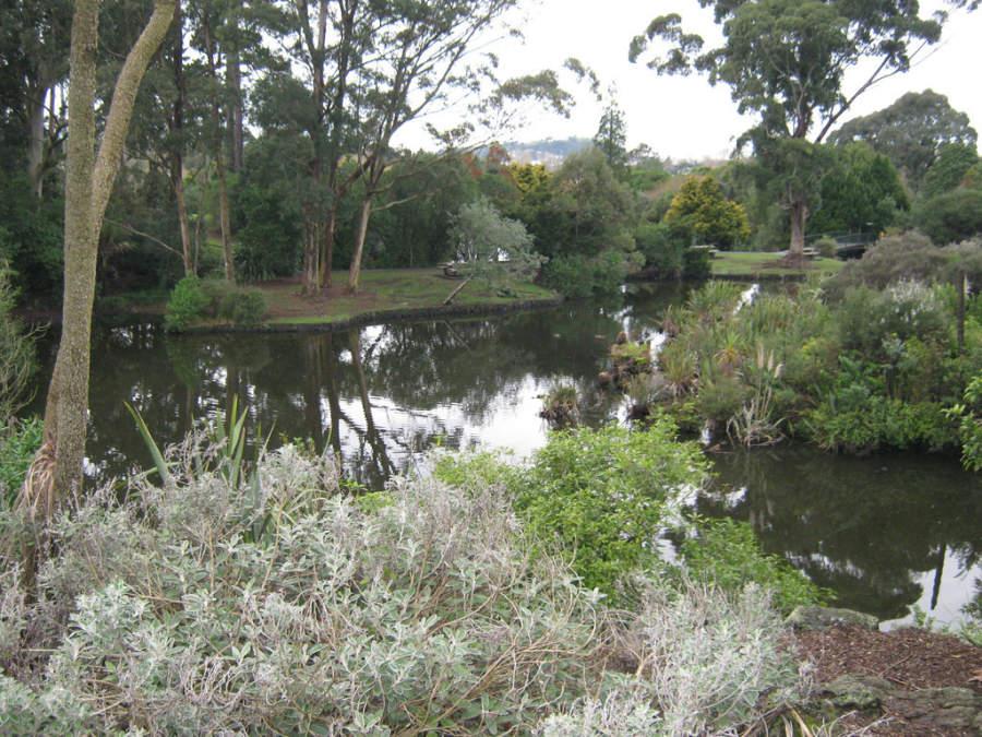 Auckland tienen numerosos parques y jardines