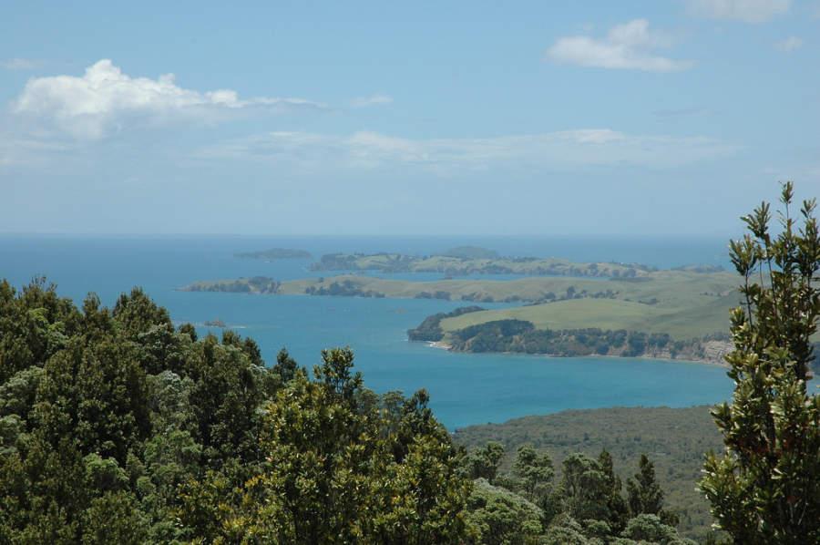 Área natural Waitakere Ranges a 25 kilómetros de Auckland