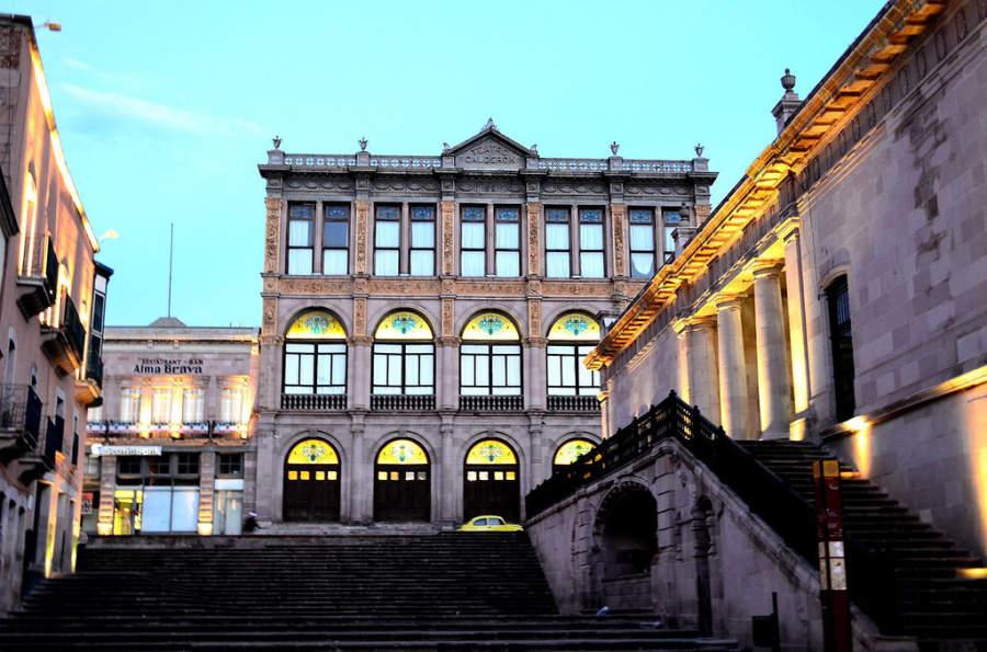 El Teatro Calderón es una joya arquitectónica de Zacatecas