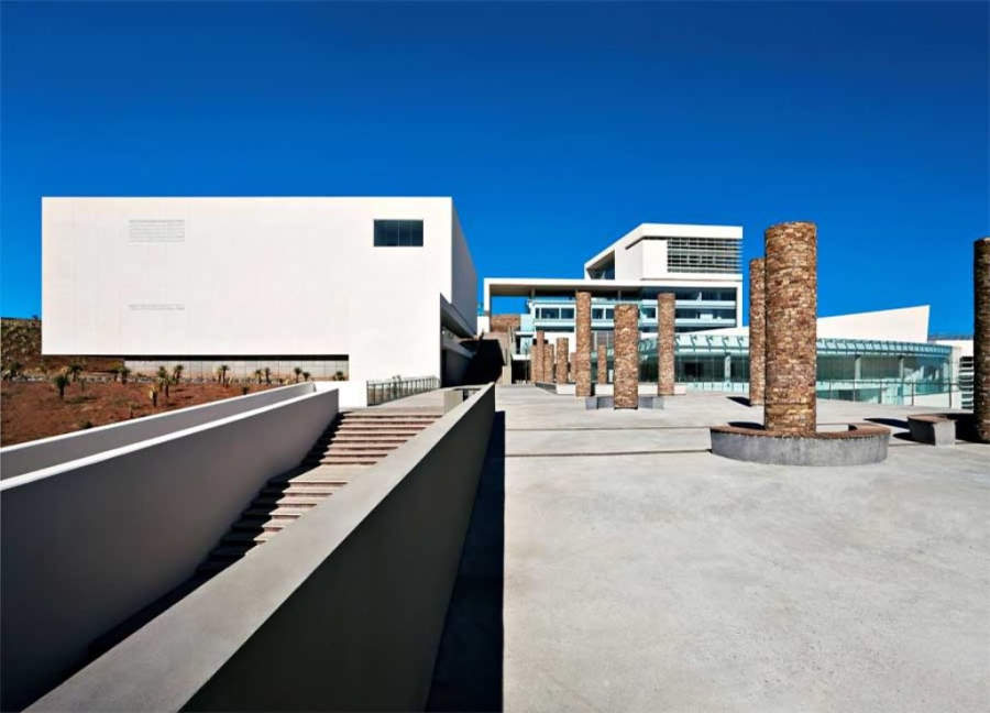 La Ciudad Administrativa de Zacatecas es un complejo de edificios gubernamentales