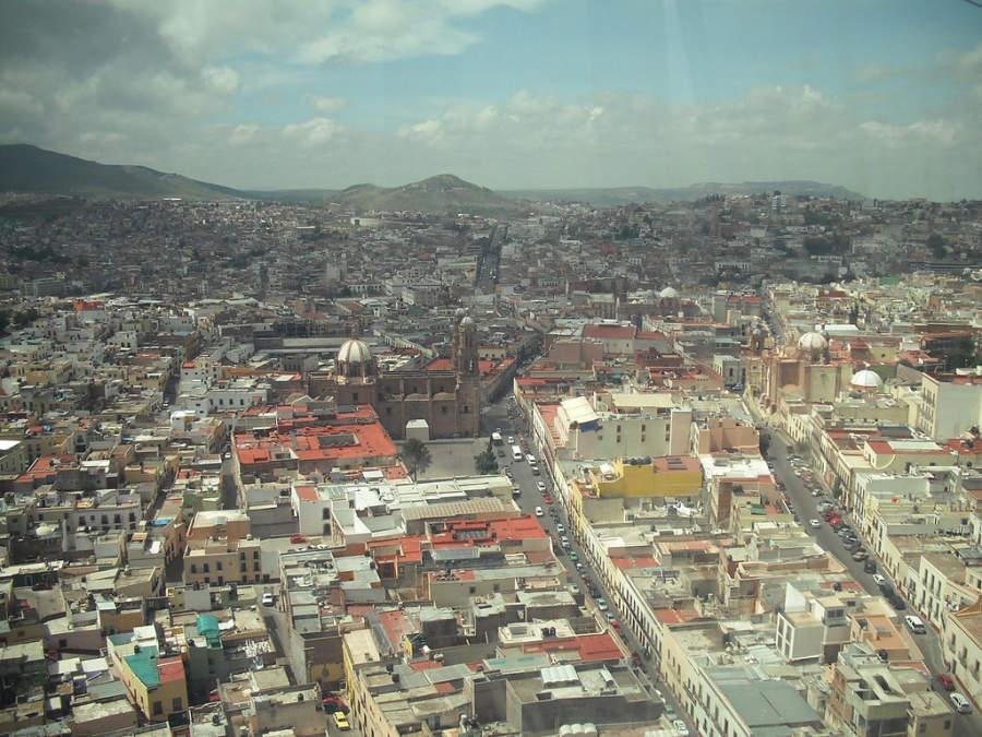 Vista panorámica de la ciudad de Zacatecas