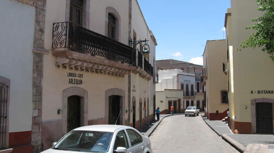 Zacatecas está llena de callejuelas serpenteantes