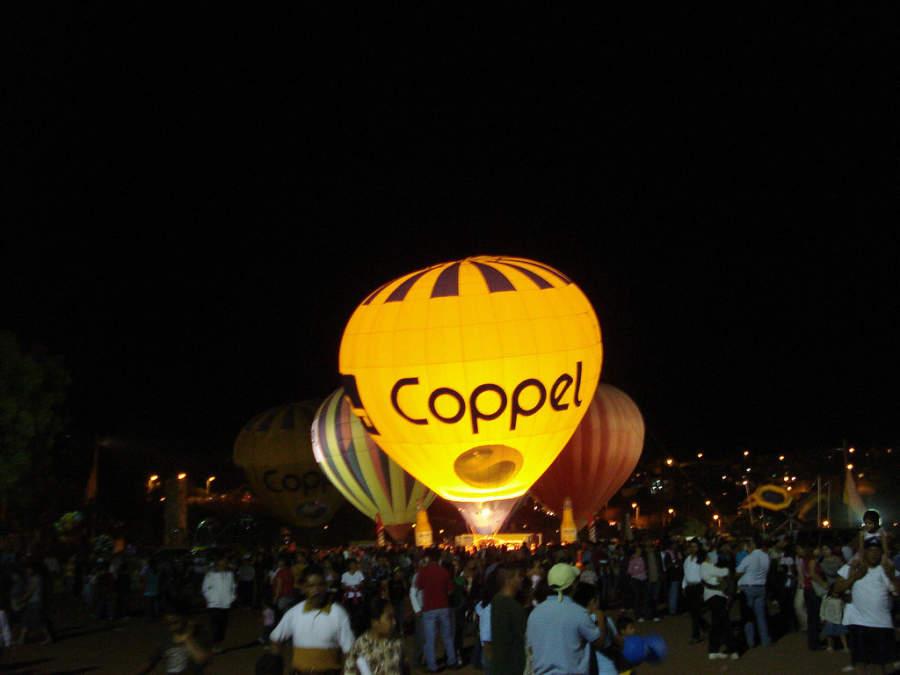 Festival del globo en Zacatecas